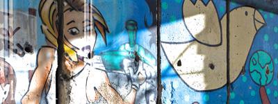 Graffiti-Wandbild