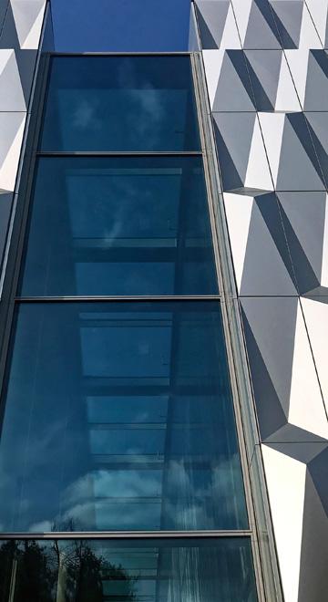 Moderne Fassadengestaltung